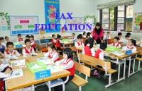 Chính sách thuế đối với hoạt động giáo dục