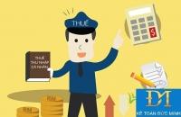 Cách tính thuế thu nhập cá nhân mới nhất năm 2016