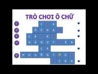Cách tạo trò chơi ô chữ với chương trình Powerpoint