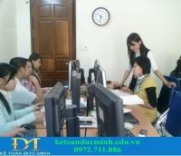 Trung tâm đào tạo kế toán UY TÍN tại Hà Nội - Kế toán Đức Minh
