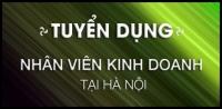 Tuyển nhân viên Kinh Doanh làm việc tại Hà Nội