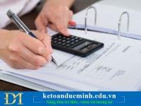 Khi lập hóa đơn mà tên người mua và địa chỉ quá dài??? – Kế toán Đức Minh.