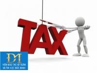 Hướng dẫn một số vướng mắc về khai thuế và khai bổ sung hồ sơ khai thuế (phần 3)