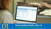 Cách xử lý âm kho hoặc hàng xuất bán trước ngày hoá đơn xuất bán - Kế toán Đức Minh.