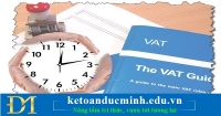 Xử phạt đối với hóa đơn GTGT, dịch vụ xuất sai thời điểm – Kế toán Đức Minh.