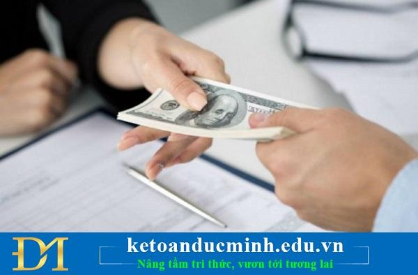 Khi nhận tiền đặt cọc có phải xuất hóa đơn hay không? – Kế toán Đức Minh.